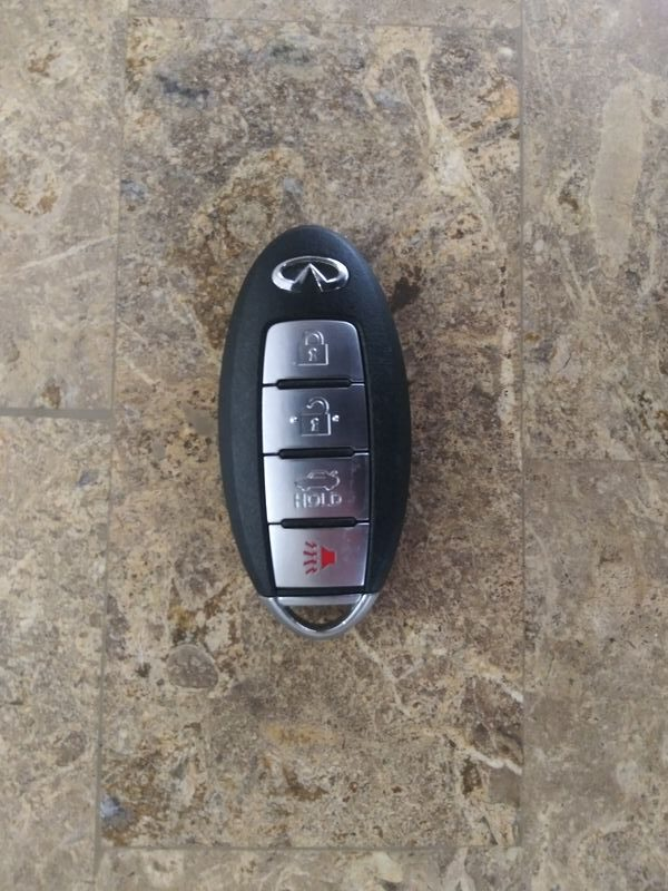 Infiniti Car Key Fob Replacement