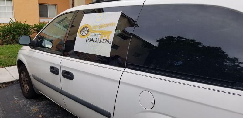 Mr. Spare Key Locksmith Van