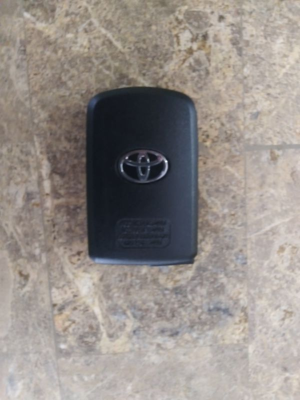 Toyota car key fob replacement